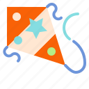 fly, game, hobby, kite icon