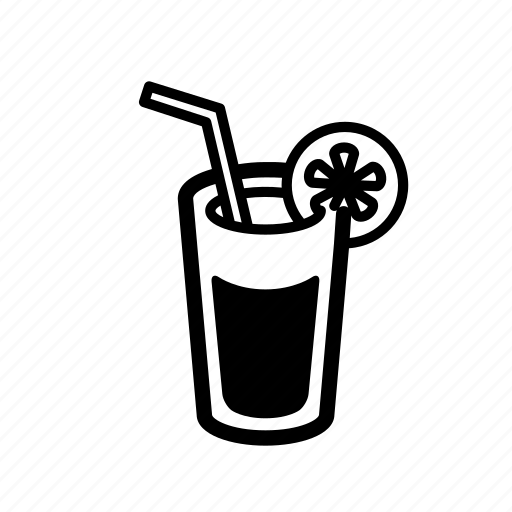 cocktail, drink, fresh, hot, summer icon