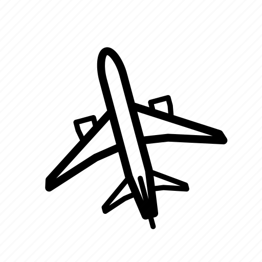 aircraft, holiday, jet, jetliner, plane, summer, travel icon