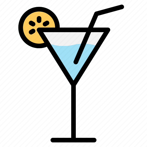 beverage, cocktail, drink, glass, party, summer, thirst icon