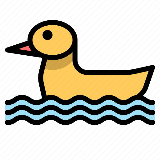 buoy, child, duck, float, pool, recreation, swimming icon