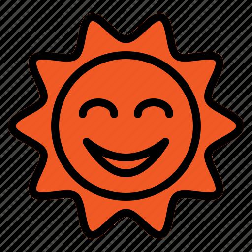 day, summer, sun, sunny, sunrise, weather icon