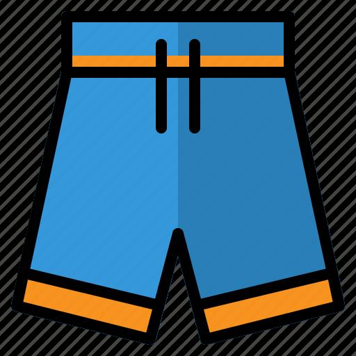 beach, man, shorts, summer, swimming, swimsuit, swimwear icon