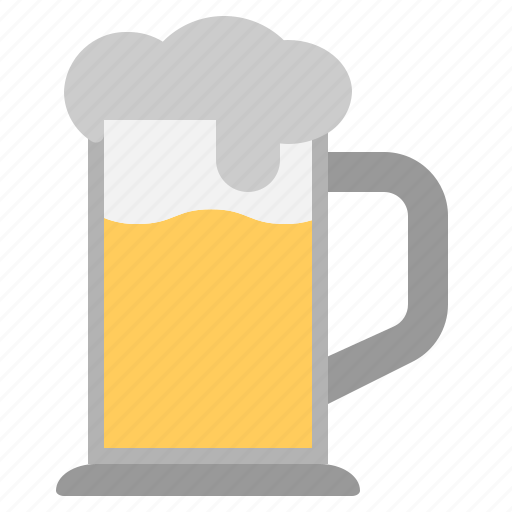 Alcohol, beer, booze, cool, drink, glass, mug icon - Download on Iconfinder