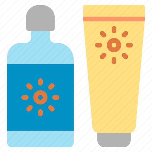 Beach, cream, lotion, protection, sun, sunblock, sunscreen icon - Download on Iconfinder