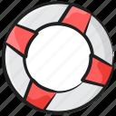 life rescue, lifebuoy, safety tube, swimming tyre, tyre tube