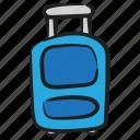 baggage, luggage, tourist bag, travelling bag, trolley bag
