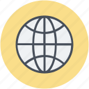 around the globe, globe, international, planet, worldwide icon