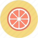 food, fruit, lemon, lemon slice, orange slice icon