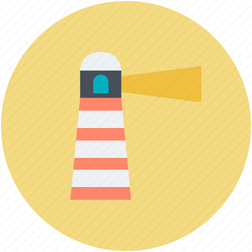 Light house, lighthouse tower, sea lighthouse, sea tower, tower house icon - Download on Iconfinder