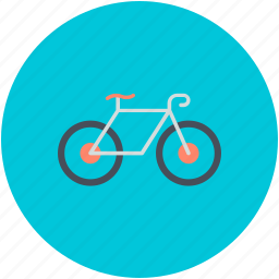 bicycle, bike, cycle, cycling, transport icon
