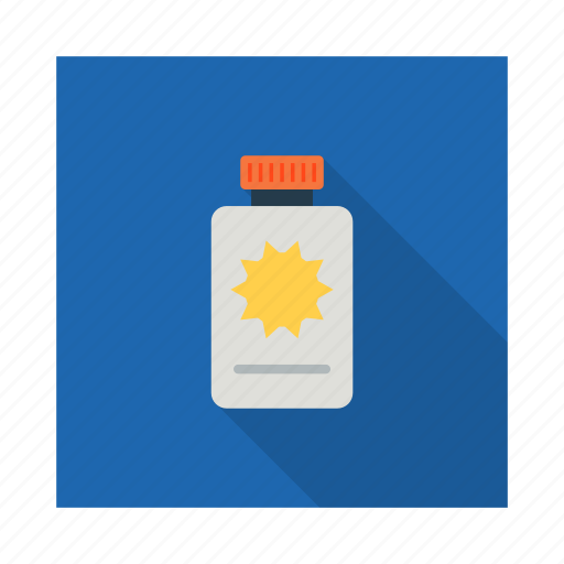 bottle, lotion, medicine, oil, pharmaceutical, sun oil, syrup icon