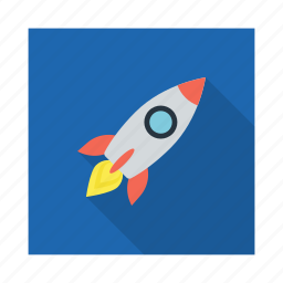 bomb, exploration, explosion, launch, missile, spacecraft, war icon