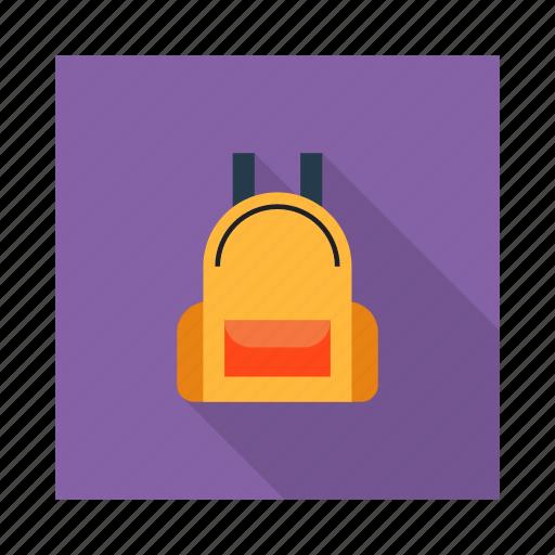 bag, books, college, school bag, study icon