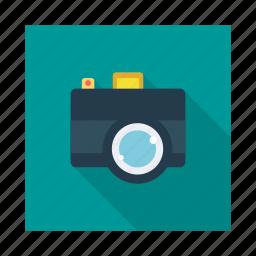 camera, digital, film, image, media, movie, record icon
