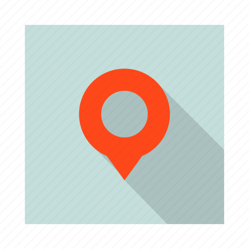 flag, gps, location, navigation, pin, place, pointer icon