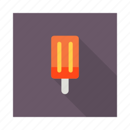 cone, cooking, gastronomy, ice cream, popsicle, summer, sweet icon