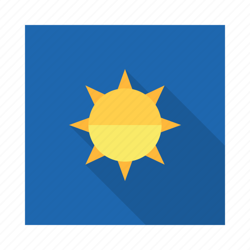 beach, cloudy, day, forecast, nature, rain, sun icon