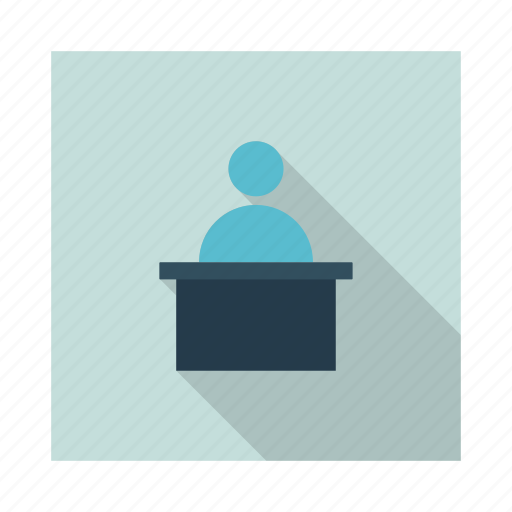 comment, conference, conversation, meeting, presentation, speech icon