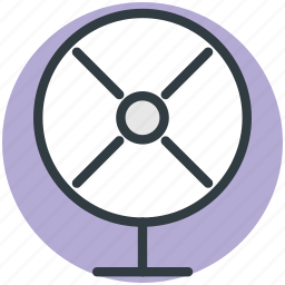 air fan, charging fan, electric fan, fan, pedestal fan, table fan, ventilator fan icon