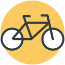 push bike, bike, bicycle, pedal cycle, cycle icon