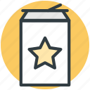canned drink, cola can, cola tin, fizzy drink, soda, tin pack icon
