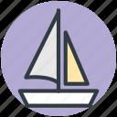 boat, sailboat, sailing vessel, ship, yacht
