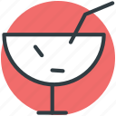 straw, juice, cold drink, drink, ice cubes icon