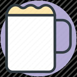 alcohol, alcoholic beverage, ale, beer mug, oktoberfest icon