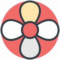 bloom, blooming, blossom, flower, four leafs icon