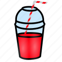 beverage, disposable, drink, glass, juice, smoothirs icon