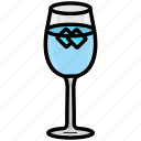 beverage, cocktail, drink, glass, soda, water icon