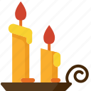 candle, celebration, christmas, dark, decoration, light, romantic icon