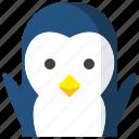 animals, avatar, christmas, face, joy, penguin, xmas