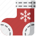 celebration, christmas, decoration, fun, holiday, socks, stockings icon