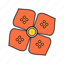 flower, nature, spring, summer icon