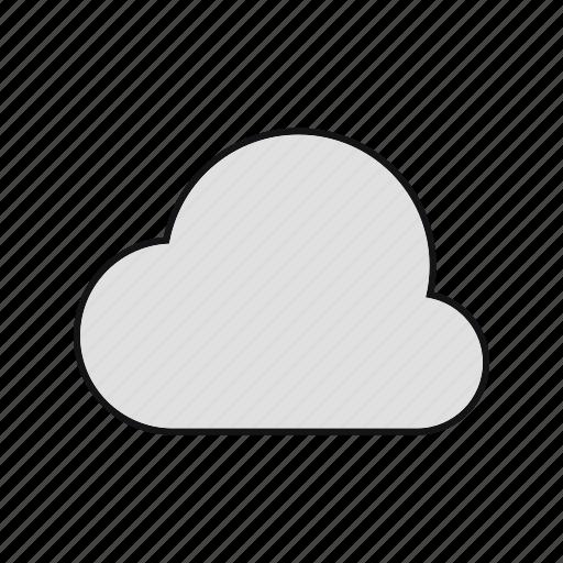 cloud, cloudy, rain, summer icon