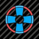 fun, summer, water, water tube icon