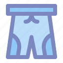 boxer, brief, cloth, men, shorts, summer, underpants icon