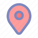 holiday, location, map, maps, pin, summer, vacation