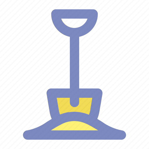 beach, holiday, shovel, spade, spring, summer, vacation icon