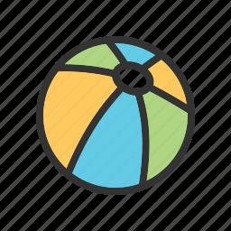 ball, beach, football, play, soccer, sport, summer icon
