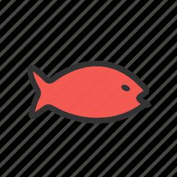 fish, fishing, food, marine, ocean, sea food, water icon