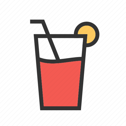 beach, cocktail, drink, glass, juice, lemon juice, summer icon