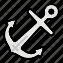 anchor, summer, sea, sailor, marine, vintage, ocean