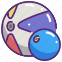 ball, beach ball, fun, holidays, leisure, summer icon