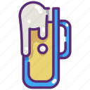 alcohol, bar, beer, drink, food, mug, pint icon