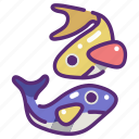 animal, animals, aquarium, aquatic, fish, sea life icon