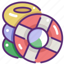 float, floating, help, lifebuoy, lifeguard, lifesaver, security icon