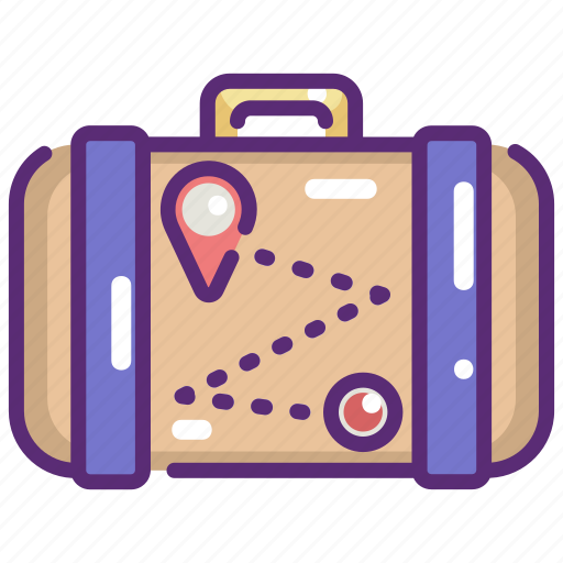 Baggage, luggage, suitcase, travel, travelling icon - Download on Iconfinder